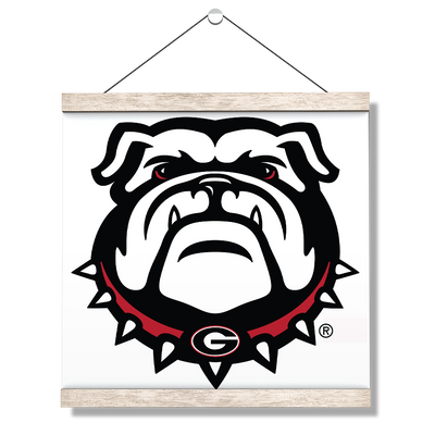 Georgia Bulldogs - Bulldogs - College Wall Art #Hanging Canvas