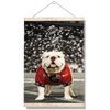 Georgia Bulldogs - Uga Under the Lights - College Wall Art #Hanging Canvas