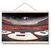 Georgia Bulldogs - Sanford Stadium End Zone Duotone - College Wall Art #Hanging Canvas