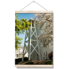 Georgia Bulldogs - Spring Bell Tower - College Wall Art #Hanging Canvas