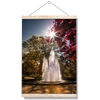 Georgia Bulldogs - The Fountain - College Wall Art #Hanging Canvas