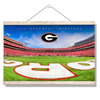Georgia Bulldogs - It's Saturday in Athens End Zone - College Wall Art #Hanging Canvas