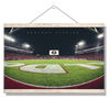 Georgia Bulldogs - Sanford Stadium End Zone - College Wall Art #Hanging Canvas