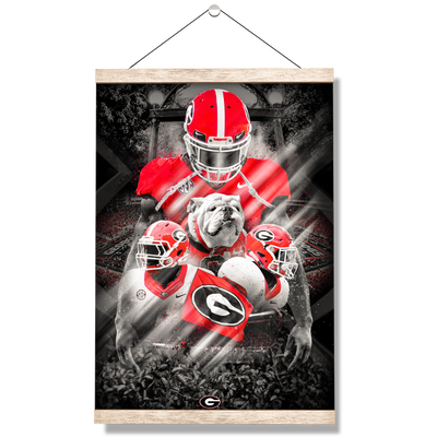 Georgia Bulldogs - This is Georgia - College Wall Art #Hanging Canvas