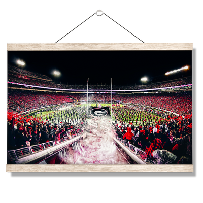 Georgia Bulldogs - Dawg Entrance - College Wall Art#Hanging Canvas
