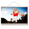 Georgia Bulldogs - Hairy the Dawg - College Wall Art #Hanging Canvas