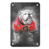 Georgia Bulldogs - The Dawg Painting - College Wall Art #Metal