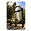Georgia Bulldogs - Sunshine Arch - College Wall Art #Metal