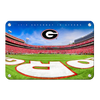 Georgia Bulldogs - It's Saturday in Athens End Zone - College Wall Art #Metal