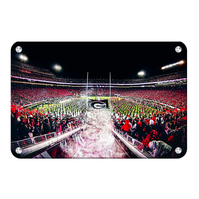 Georgia Bulldogs - Dawg Entrance - College Wall Art#Metal