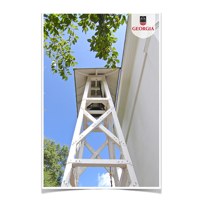 Georgia Bulldogs - Chapel Bell Tower - College Wall Art #Poster