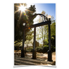 Georgia Bulldogs - Sunshine Arch - College Wall Art #Poster