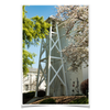 Georgia Bulldogs - Spring Bell Tower - College Wall Art #Poster