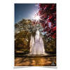 Georgia Bulldogs - The Fountain - College Wall Art #Poster