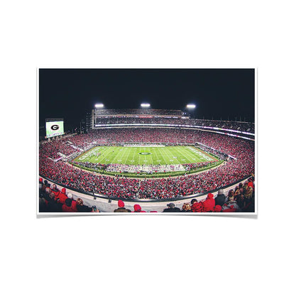 Georgia Bulldogs - Sanford Stadium 50 Yard Line - College Wall Art #Poster