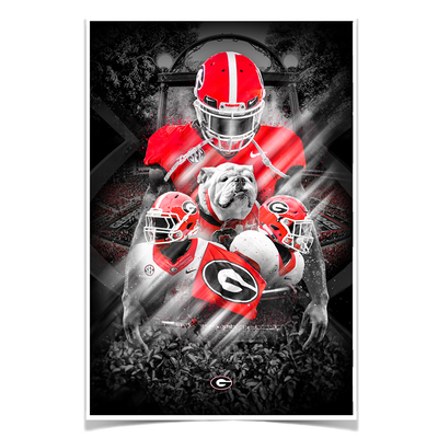 Georgia Bulldogs - This is Georgia - College Wall Art #Poster