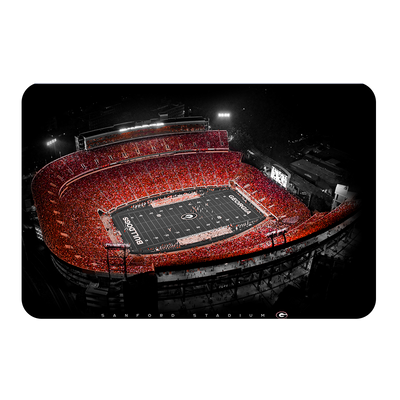 Georgia Bulldogs - UGA Sanford Stadium - College Wall Art #PVC