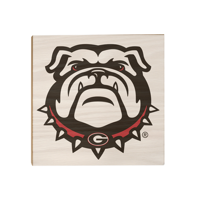 Georgia Bulldogs - Bulldogs - College Wall Art #Wood