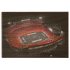 Georgia Bulldogs - UGA Sanford Stadium - College Wall Art #Wood