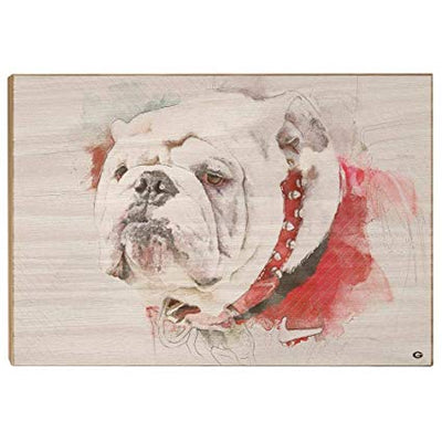 Georgia Bulldogs - Uga Painting #Wood