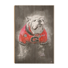 Georgia Bulldogs - The Dawg Painting - College Wall Art #Wood