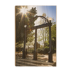 Georgia Bulldogs - Sunshine Arch - College Wall Art #Wood