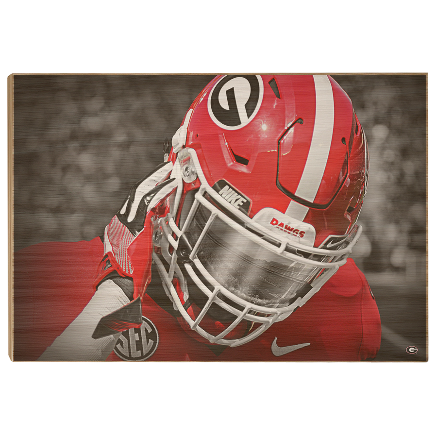 Georgia Bulldogs - Strap It Up UGA - College Wall Art #Canvas