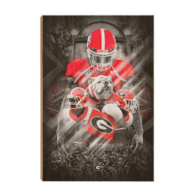 Georgia Bulldogs - This is Georgia - College Wall Art #Wood