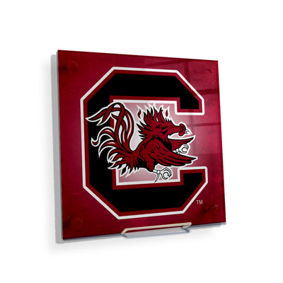 South Carolina Gamecocks - Gamecocks Red - College Wall Art #Acrylic Mini