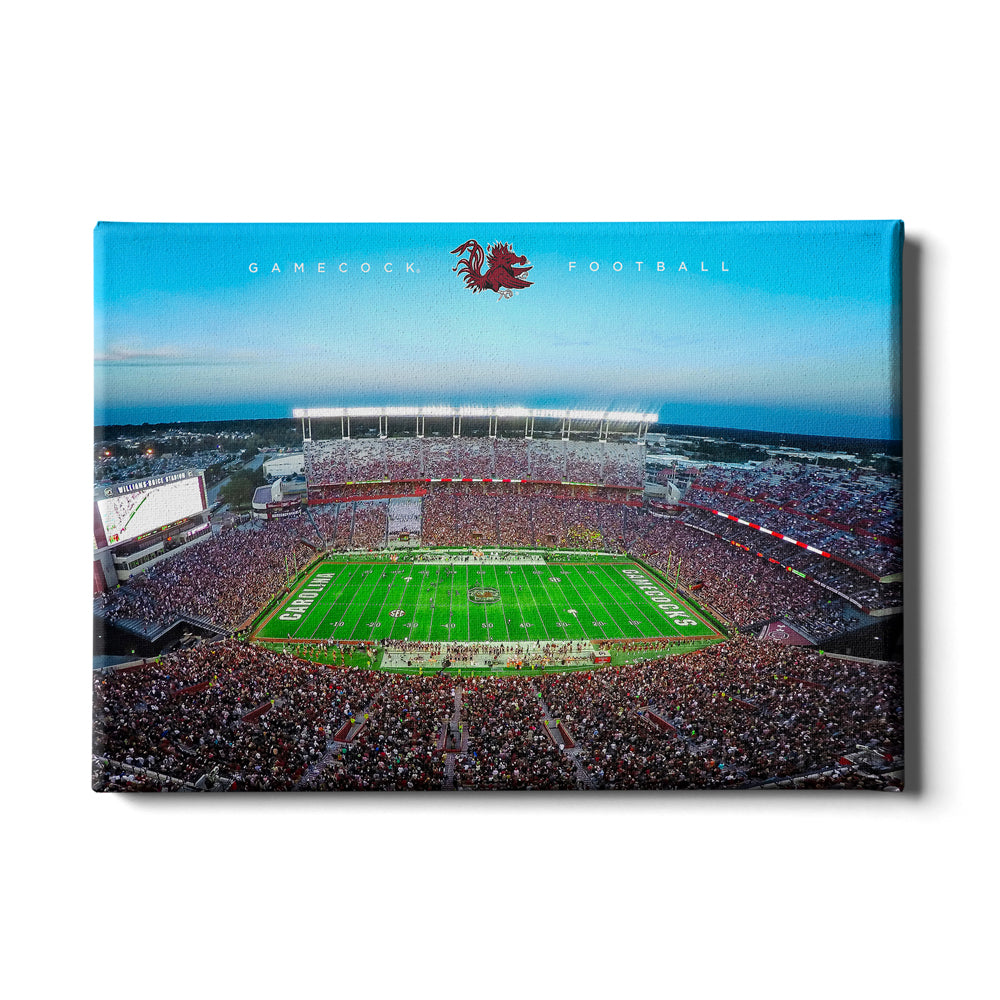 South Carolina Gamecocks - Gamecock Football - College Wall Art #Canvas