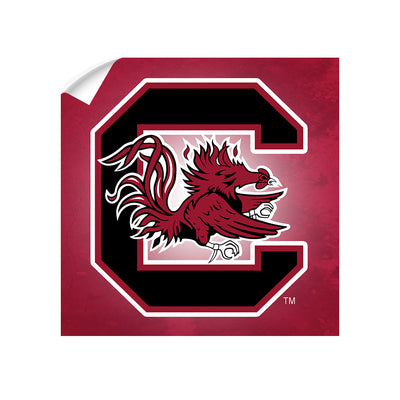 South Carolina Gamecocks - Gamecocks Red - College Wall Art #Wall Decal