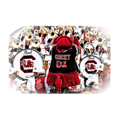 South Carolina Gamecocks - Cocky and the Band - College Wall Art #Wall Decal