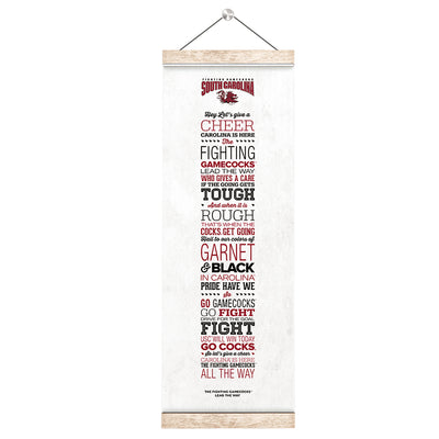South Carolina Gamecocks - Lead the Way - College Wall Art #Hanging Canvas