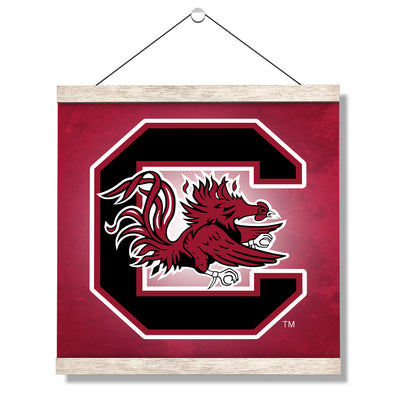 South Carolina Gamecocks - Gamecocks Red - College Wall Art #Hanging Canvas