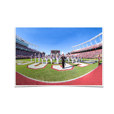 South Carolina Gamecocks - Half Time - College Wall Art #Poster