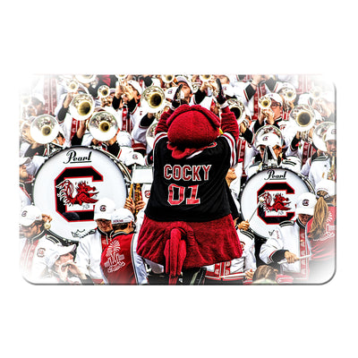 South Carolina Gamecocks - Cocky and the Band - College Wall Art #PVC