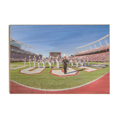 South Carolina Gamecocks - Half Time - College Wall Art #Wood
