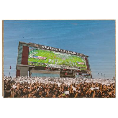 South Carolina Gamecocks - Space Odyssey - College Wall Art #Wood
