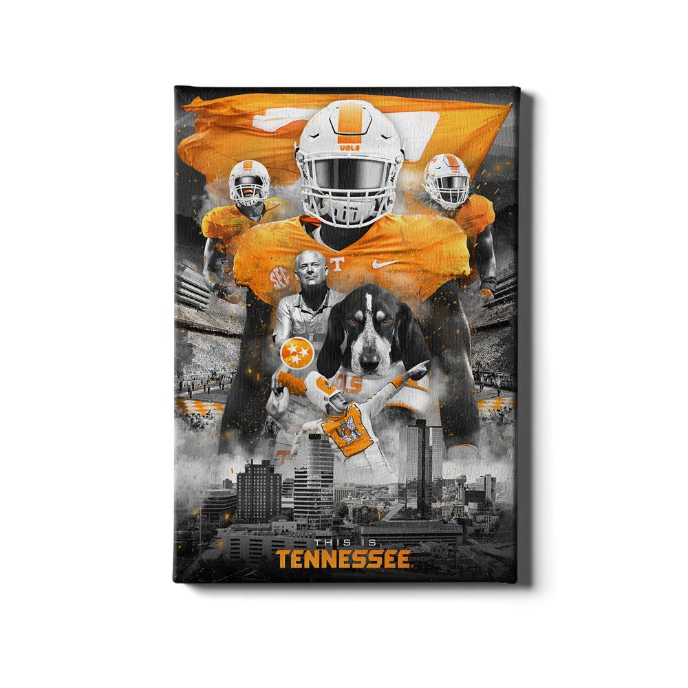 Tennessee Volunteers - This is Tennessee - College Wall Art #Canvas