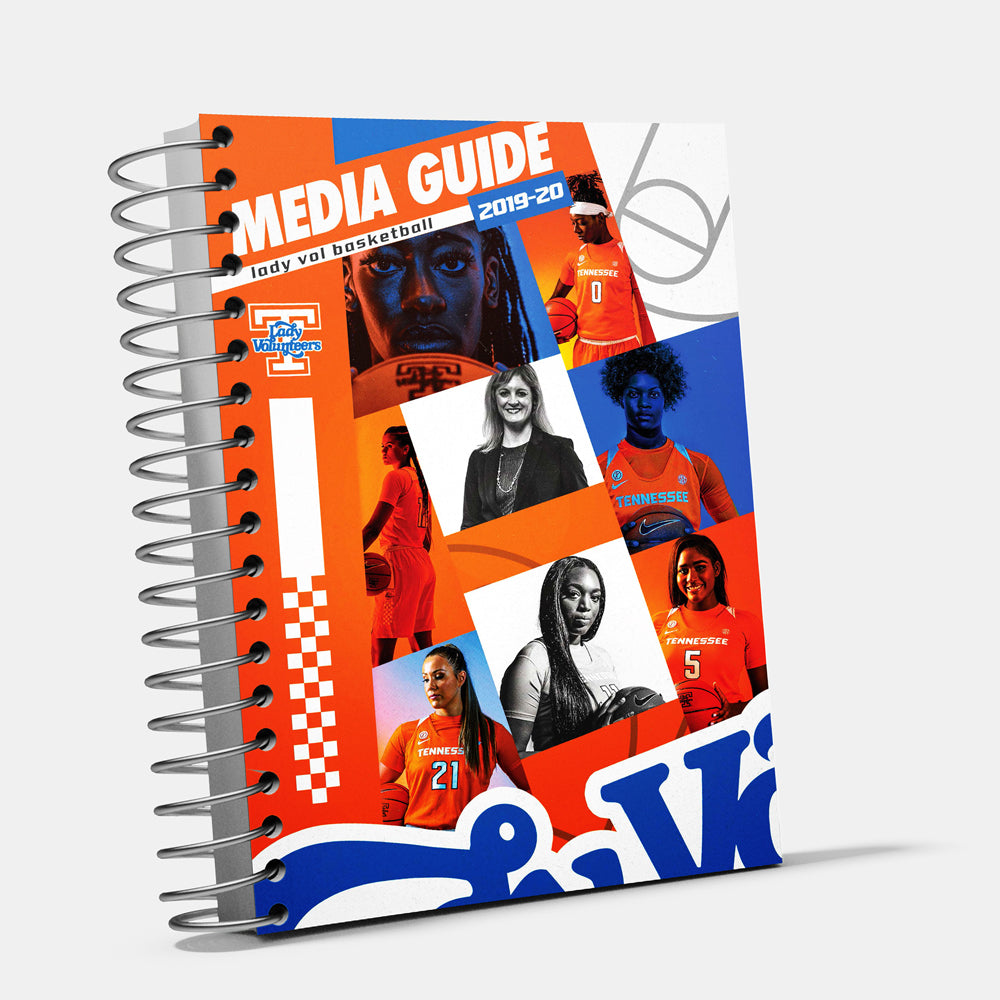 Tennessee Volunteers - 2019-20 Women's Basketball Media Guide - College Wall Art