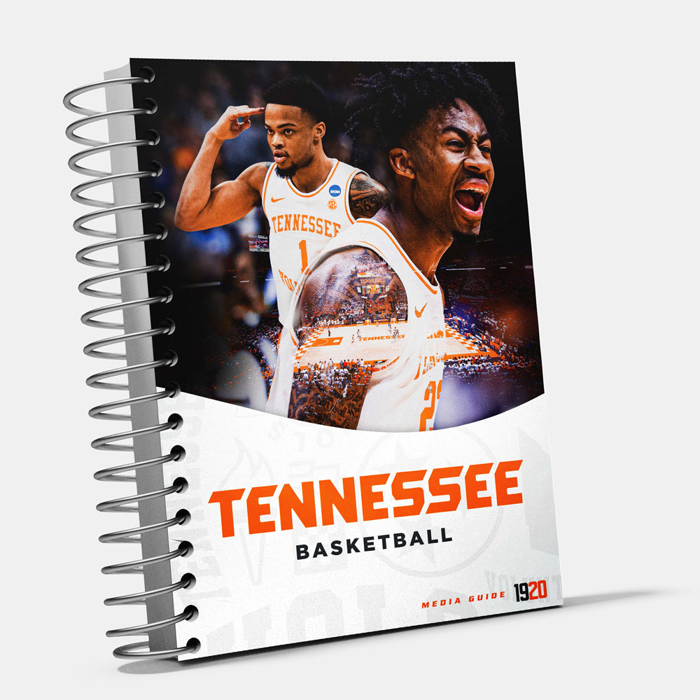 Tennessee Volunteers - 2019-20 Men's Basketball Media Guide - College Wall Art