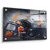 Tennessee Volunteers - Smokey Gray Helmets - College Wall Art #Acrylic