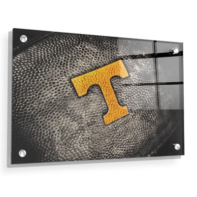 Tennessee Volunteers - Power T Football - College Wall Art #Acrylic