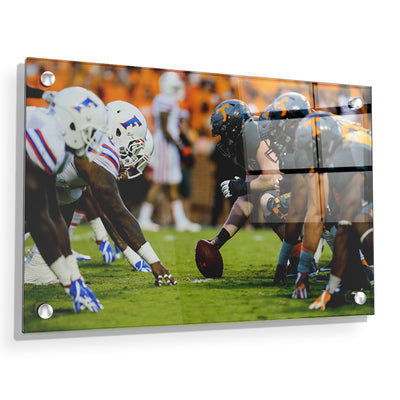 Tennessee Volunteers - Florida Showdown - College Wall Art #Acrylic
