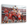 Tennessee Volunteers - The Catch TN vs. GA - College Wall Art #Acrylic