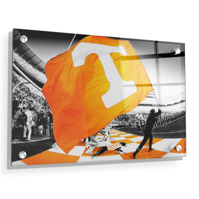 Tennessee Volunteers - Tennessee Pride - College Wall Art #Acrylic