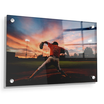Tennessee Volunteers - Sunset Pitch - College Wall Art #Acrylic