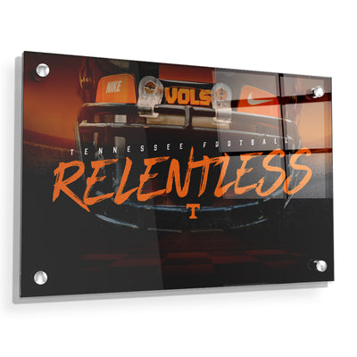 Tennessee Volunteers - Relentless - College Wall Art #Acrylic