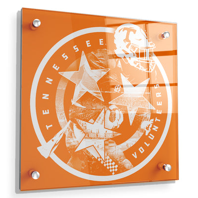 Tennessee Volunteers - Tennessee Volunteers - College Wall Art #Acrylic