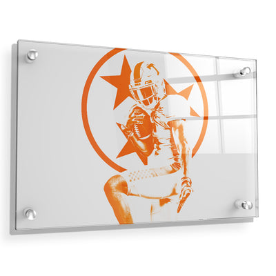 Tennessee Volunteers - Heisman Tri Star - College Wall Art #Acrylic